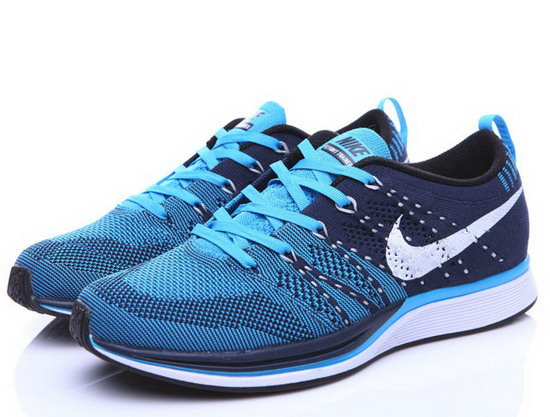 Mens Nike Flyknit Trainer Blue Dark Blue Factory Outlet